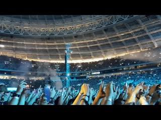 Metallica Moscow 2019 Металика сыграла Группу Крови в Лужниках Цой жив!