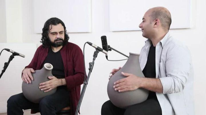 """HaPa Drums on Instagram """"دوئت اساتید پژمان حدادی و همایون نصیر1740"""