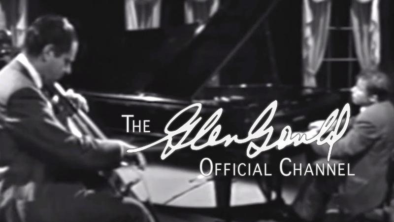 Glenn Gould - Beethoven, Sonata For Piano And Cello (A maj): I Allegro ma non tanto (OFFICIAL)