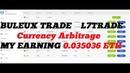 BULEUX TRADE L7TRADE Arbitrage MY PROFIT DAY 0 035036 ETH