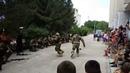Показательные выступления бойцов 810-й отдельной бригады морской пехоты