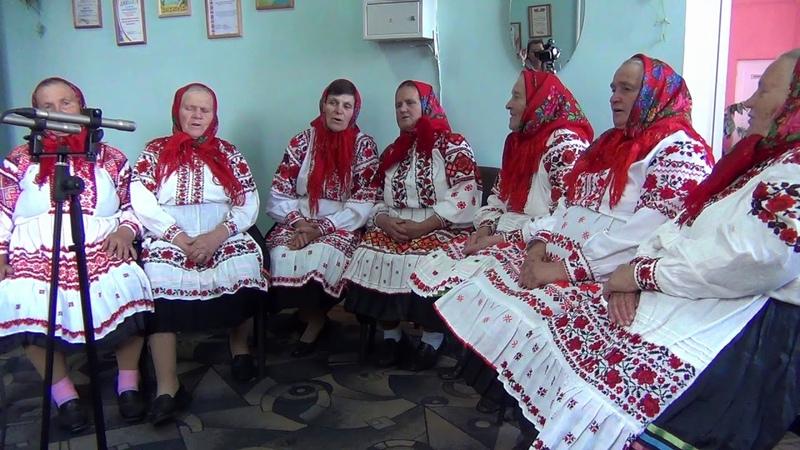 Аўтэнтычны калектыў з вёскі Хатынічы Веснавая песня