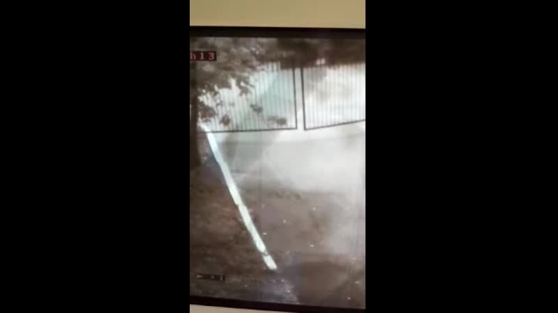 Призрак попал на камеру в Ижевске