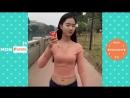 أشرطة الفيديو مضحك 2018 ★ أعلى فتاة لطيف القيام بأشياء مضحكة P2