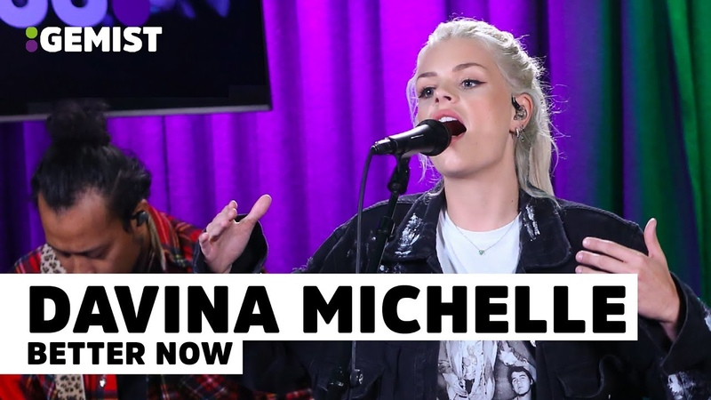 Davina Michelle - Better Now | Live bij 538