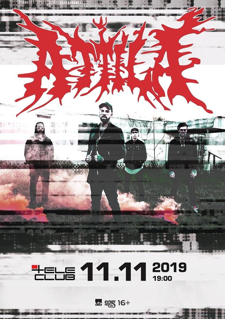 Афиша Екатеринбург ATTILA (USA) // 11.11.19 // Екб (Tele-Club)