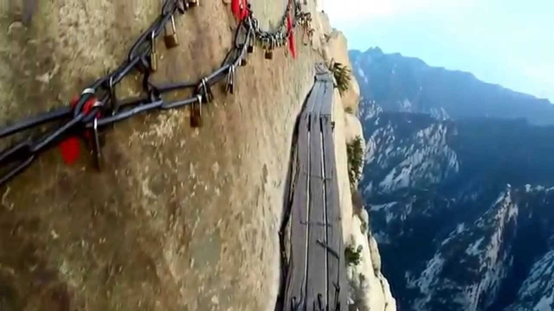 The Most Dangerous Hike in the World: Hua Shan, Shaanxi, China