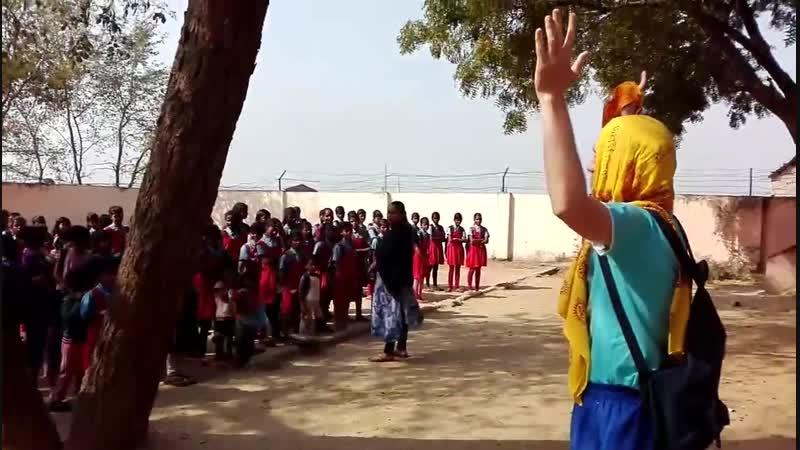 Проповедь святого имени в Бодхгае, Индия.