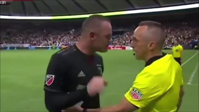 Rooney launches furious rant at official before blasting DC United's fight woes