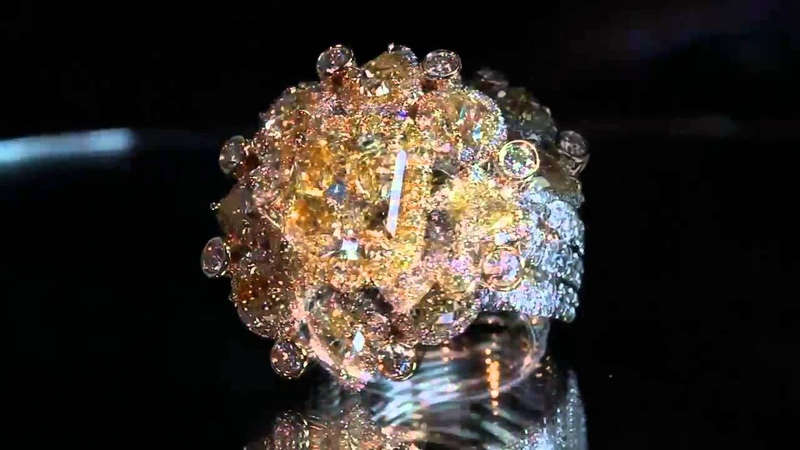 Celebrity Fancy Yellow Diamond 4.32ct vvs2 Engagement Ring Top Luxury Jewelry Made by OSTASZ