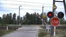 Spoorwegovergang Leonów (PL) Railroad crossing Przejazd kolejowy