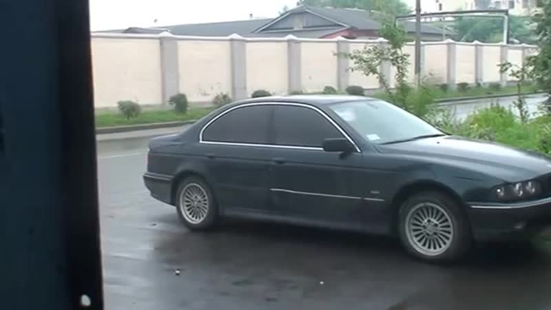 BMW E39 523i Насос ГУРа. Работа на сухую. m52b25