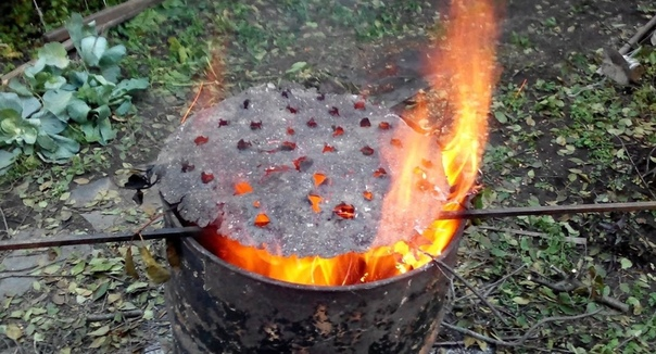 Как правильно сжигать мусор на участке
