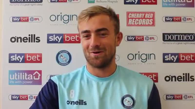 Alex Pattison is raring to go ahead of tomorrows match vs MK Dons