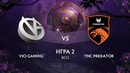 Vici Gaming vs TNC Predator игра 2 BO3 The International 9 Плей-офф День 1