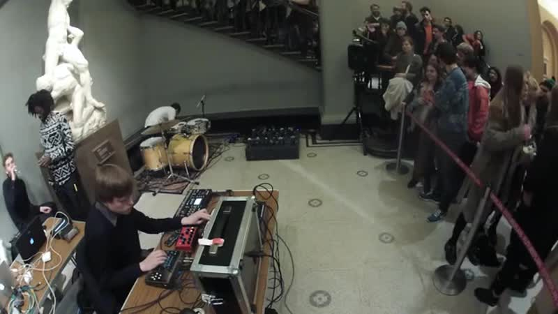 Eli Keszler Helm VA Museum x Boiler Room Live Show