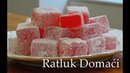 Ratluk Domaći Recept Kako se pravi Ratluk Rahat Lokum Recept