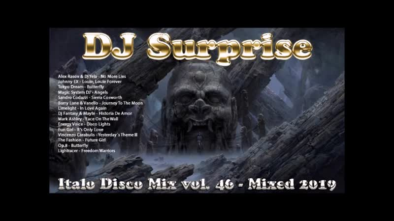 DJ Surprise - Italo Disco Mix Vol. 46 - Mixed 2019