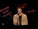Grant Gustin Singing Running Home To You Flash at The concert of America