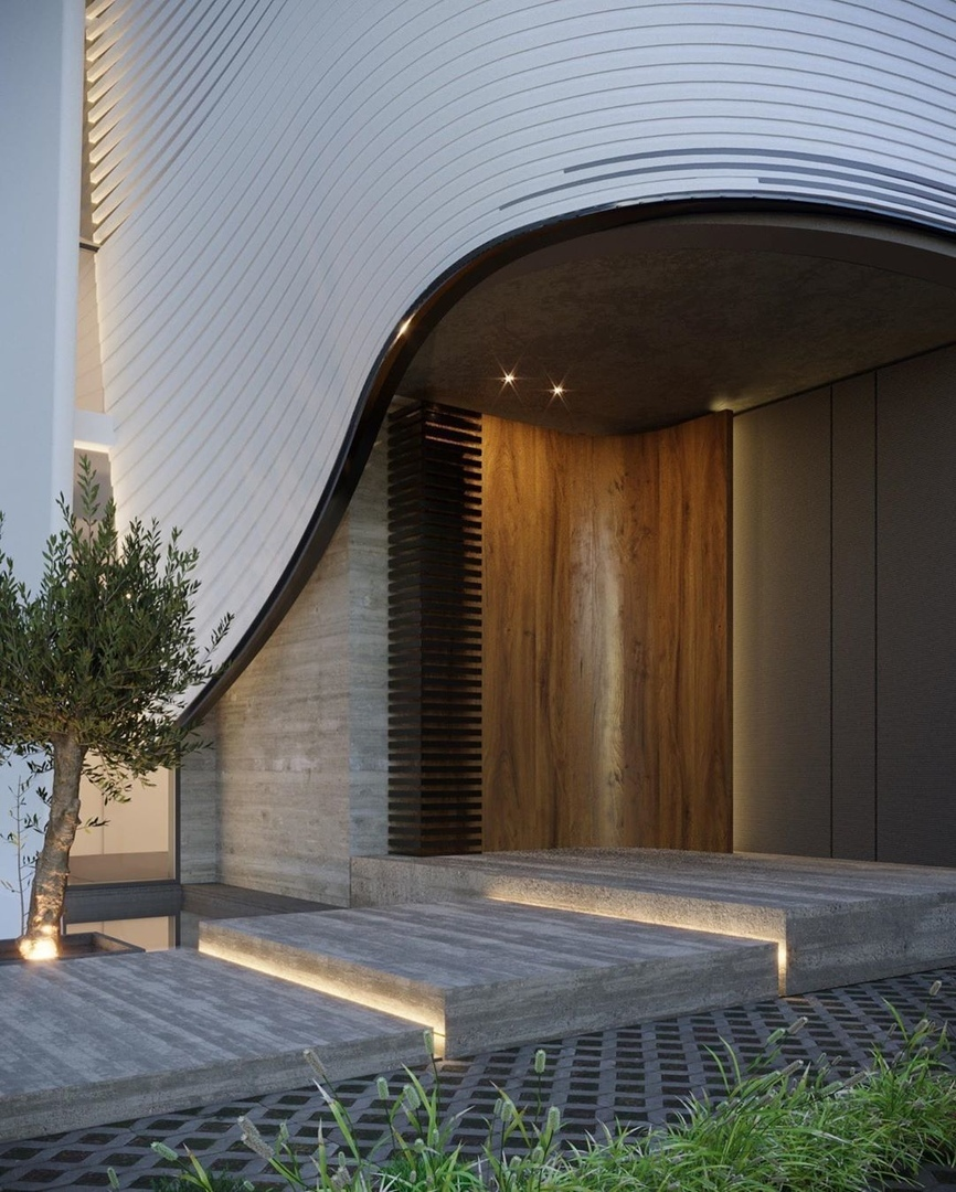 Lithe house in  designed by Kuwait-based architect