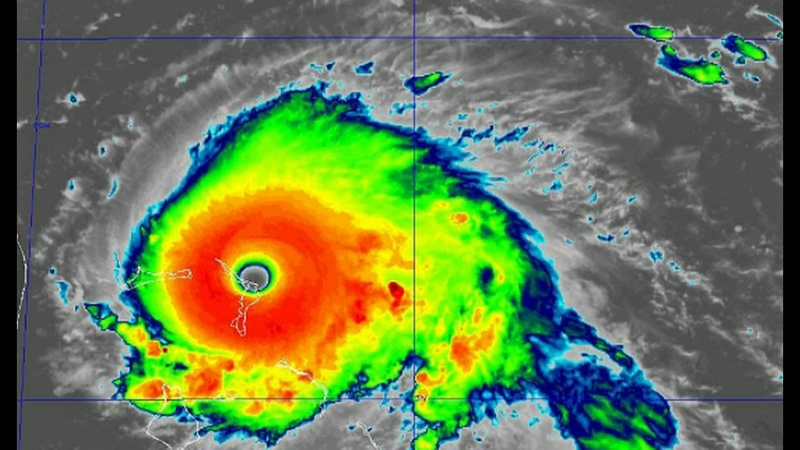 Hurricane Dorian Hits Cat 5 As It Strikes Bahamas In Historic Landfall