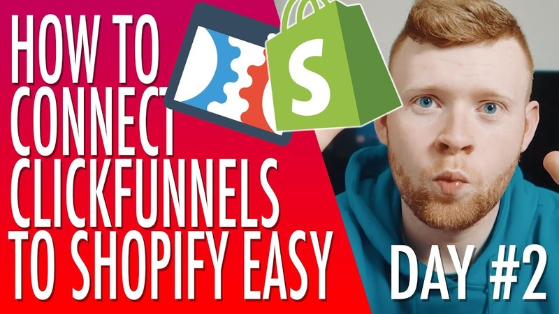 Clickfunnels Training 2: How To Connect Clickfunnels To Shopify Oberlo