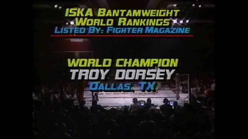 Troy Dorsey vs Steve Demencuk 1987