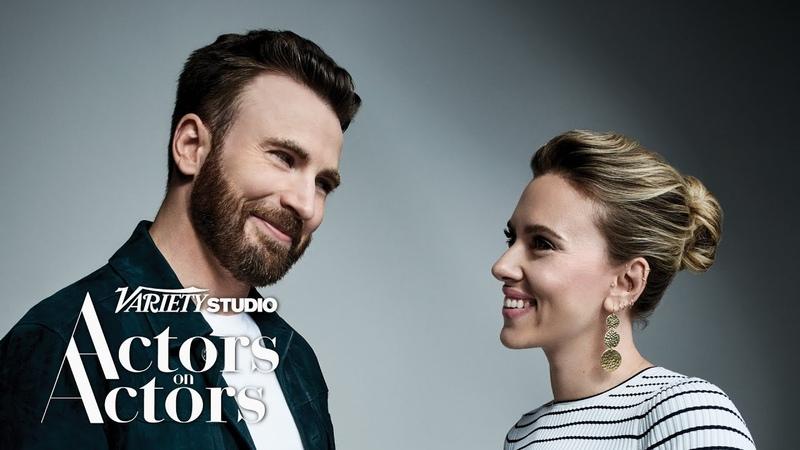 Chris Evans Scarlett Johansson Actors on Actors Full Conversation