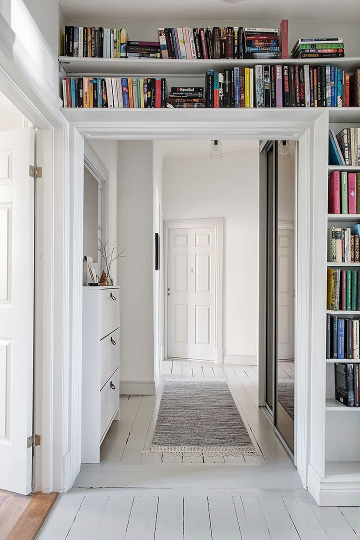 Как оживить классический интерьер с помощью пастельных оттенков: квартира в Швеции || 02