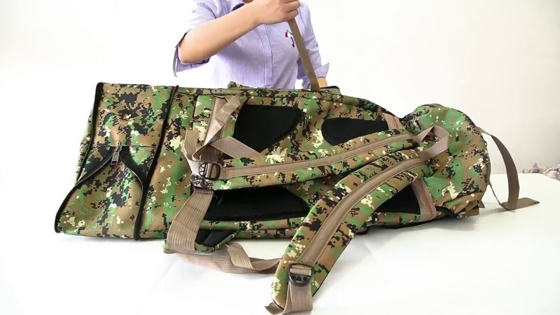 Камуфляжный туристический рюкзак на 100 литров с AliExpress