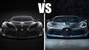 2019 Bugatti La Voiture Noire VS Bugatti Divo