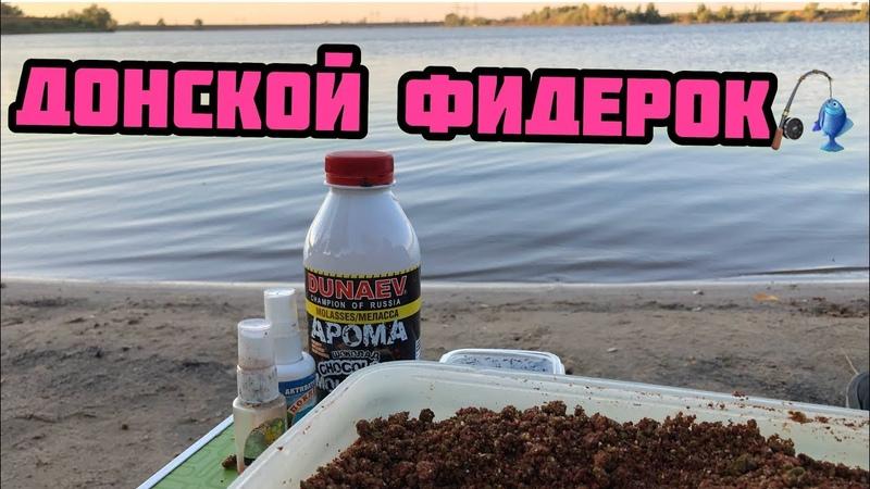 Рыбалка на Дону Быстрая Фидерная ловля Карась на донку