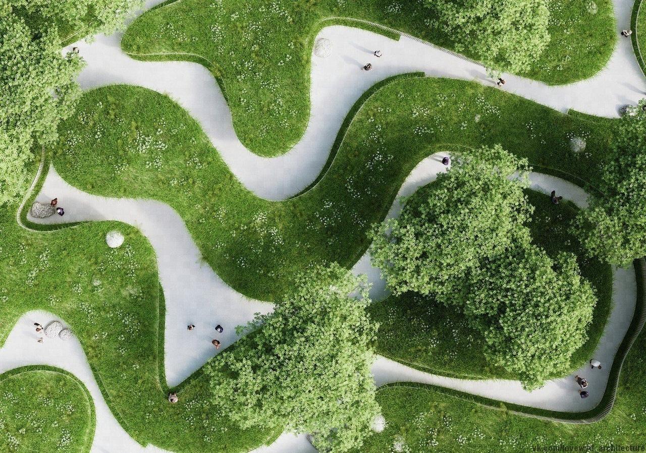 Penda projeta pavilhão inspirado na paisagem natural