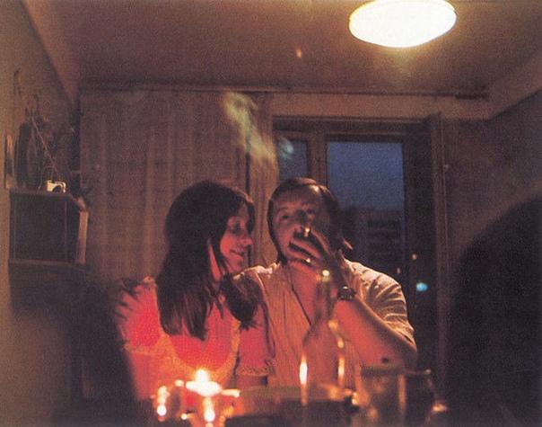 Романтический ужин при свечах по-советски