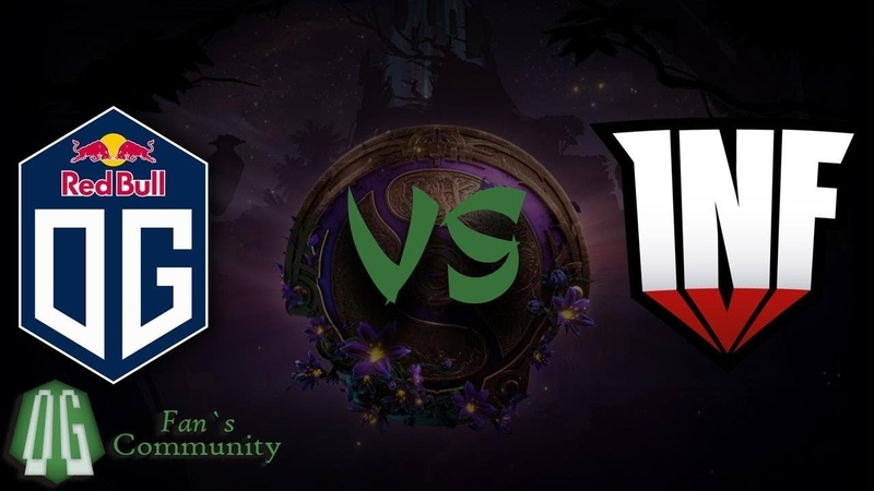 OG vs Inf - Game 1 - The International 2019 - Group Stage.