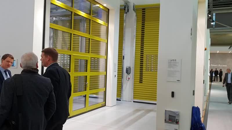BAU 2019 Hormann выставка в Мюнхене скоростные ворота 5015