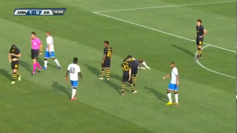 Ararat Armenia AIK Champions League kval Omgång 1