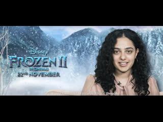 Frozen 2 _ bts _ telugu _ 22 november _ disney studios in