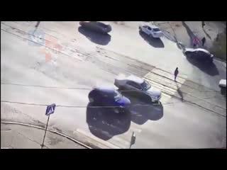 Школьницу сбили на пешеходном переходе в Бийске