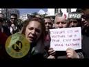 Algerie manifestation la femme algérienne a besoin qu'on la prenne en charge