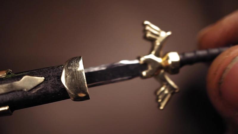 Ковка меча из болта - Link's Master Sword (Legend of Zelda)
