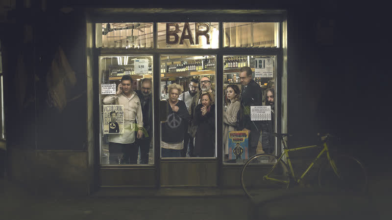 Дикая история El bar ужасы триллер Испания Аргентина 2016