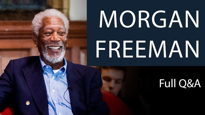 Morgan Freeman | Full QA | Oxford Union