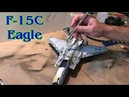 Building the Tamiya 1 48th Scale F 15C Eagle Fighter Jet
