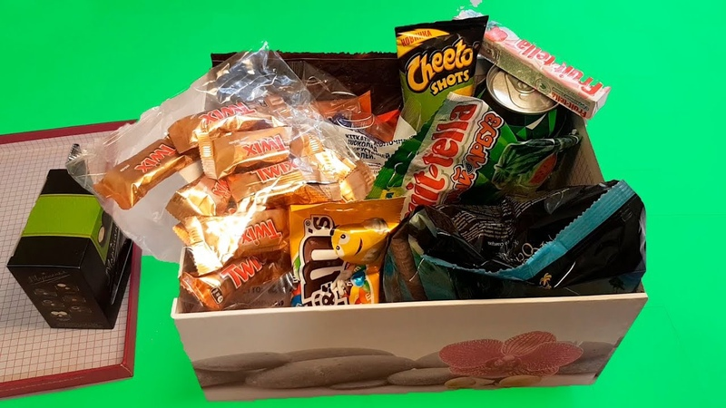 Box Full of Sweets with Nursery Rhymes and Kids Song Rock a bye Baby