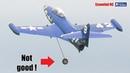 BIG turbine RC Grumman F9F Panther LOSES WHEEL ON TAKE-OFF...WHAT NEXT ? CRASH LANDING !