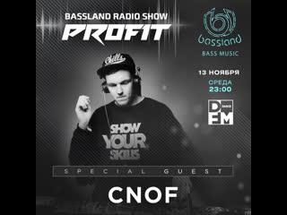 Bassland Show @ DFM () - Special guest Cnof. Liquid Funk, Soulful, Deep DrumBass