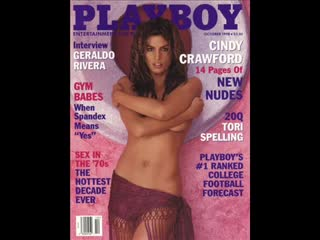 Cindy Crawford голая in Playboy (October 1998)