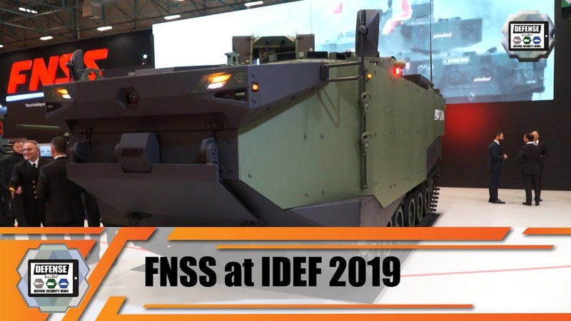 IDEF 2019 FNSS unveils new ZAHA MAV Marine Assault Vehicle amphibious armored