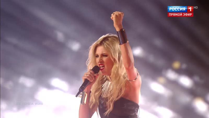Nevena Božović - Kruna (Сербия, Eurovision 2019 - Финал, 18.05.2019 - Россия 1 HD)